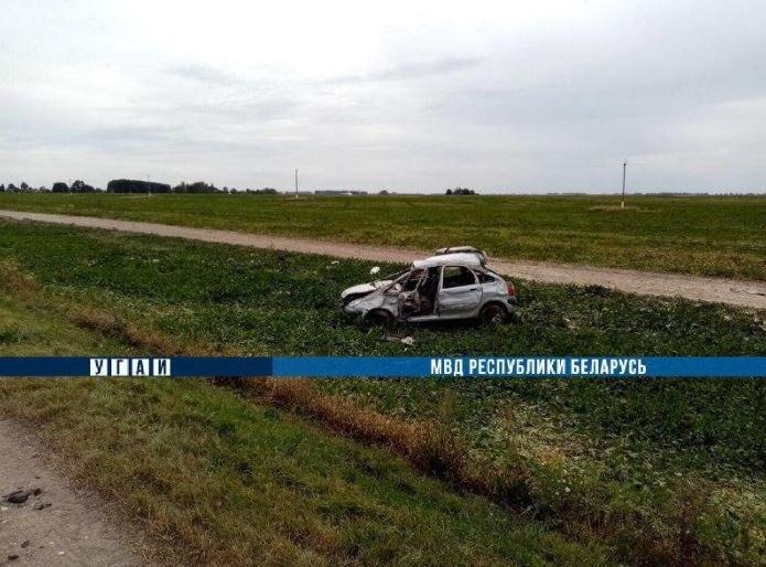 В Слуцком районе в ДТП погиб водитель