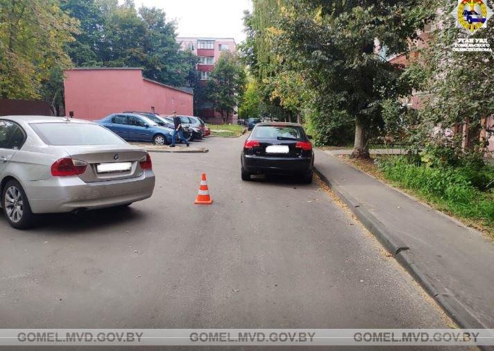 В Гомеле легковушка сбила 8-летнего велосипедиста