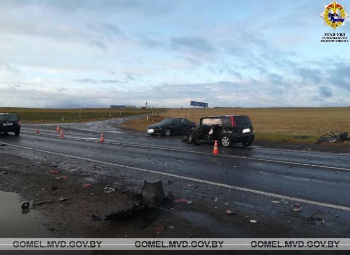 ДТП в Мозырском районе: четыре человека пострадали