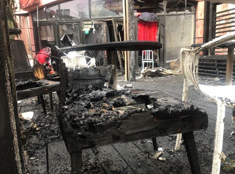 На Немиге ночью в одном из баров разорвался газовый баллон