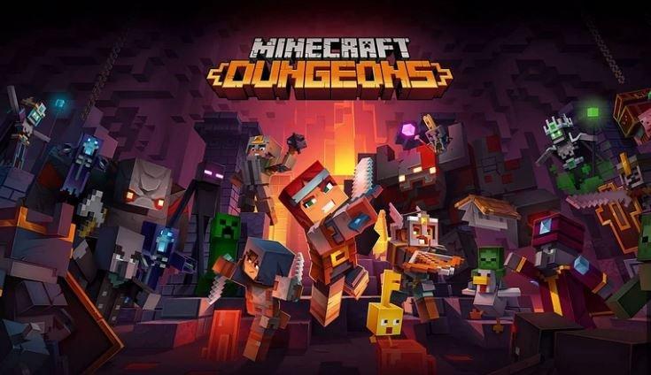 Minecraft Dungeons - началась регистрация на бета-тестирование игры