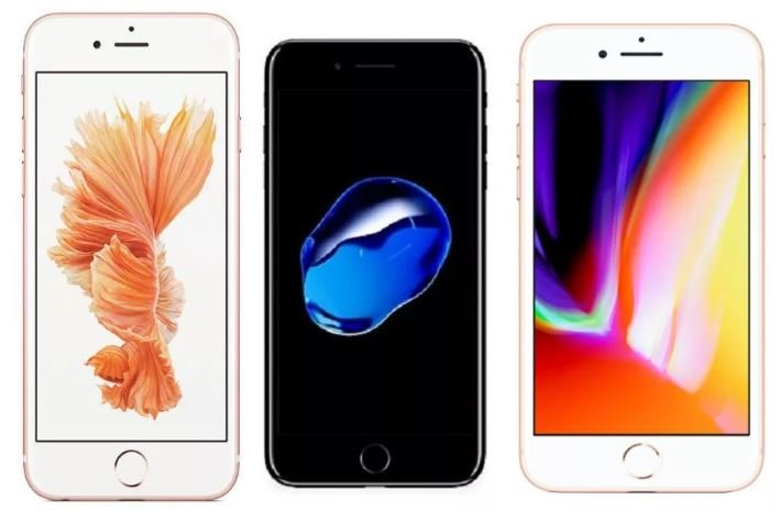 iPhone 6S, 7, 8