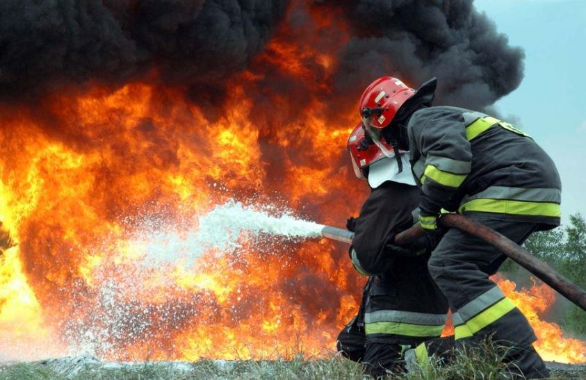 В Могилеве на стадионе «Спартак» произошел пожар