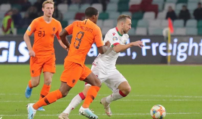 Сборная Беларуси проиграла Голландии в отборе ЧЕ-2020