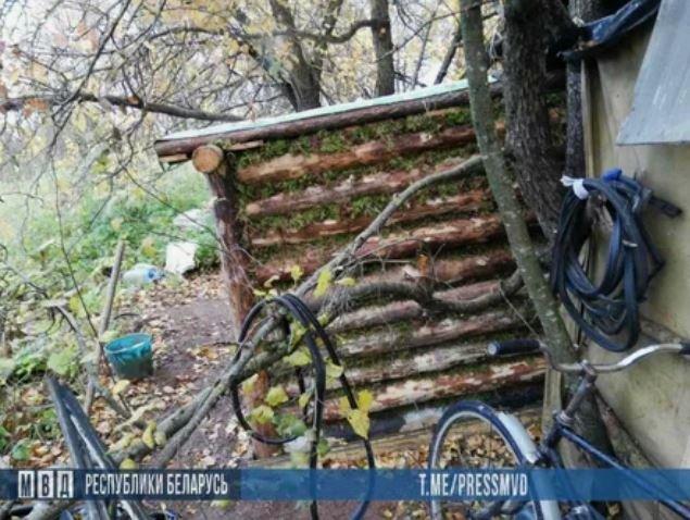 Белорус шесть лет прятался в лесу от тюрьмы