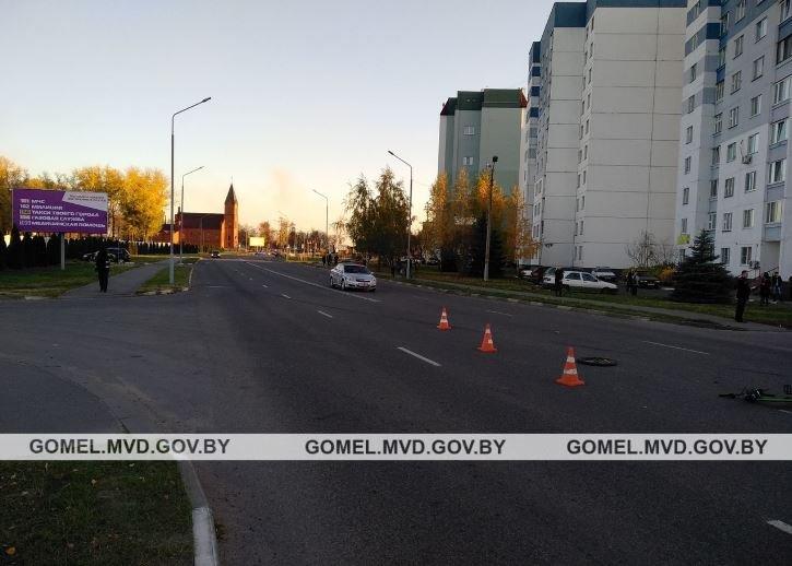 Грузовик насмерть сбил 13-летнего велосипедиста в Жлобине