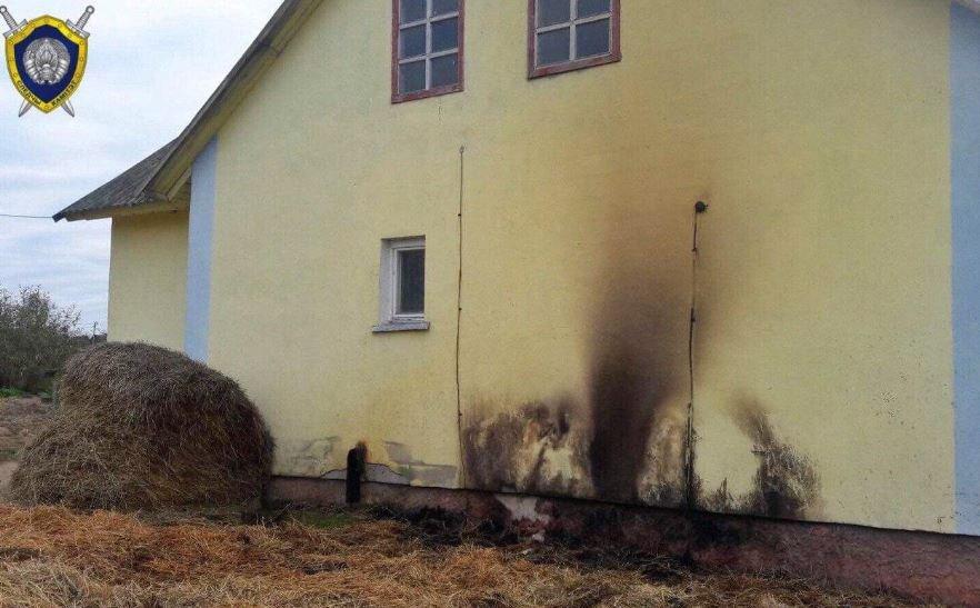 Четырехлетний мальчик сгорел в соломе в Дрибинском районе