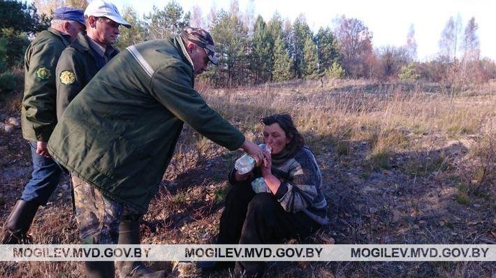 В Костюковичском районе заблудившаяся женщина провела в лесу 5 дней