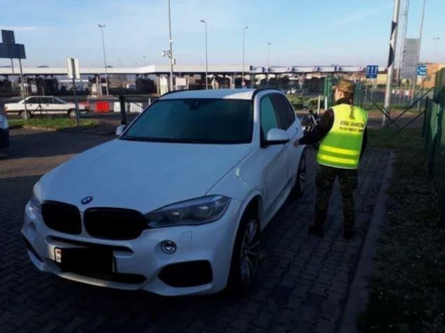 Поляки изъяли у белоруски автомобиль BMW X5