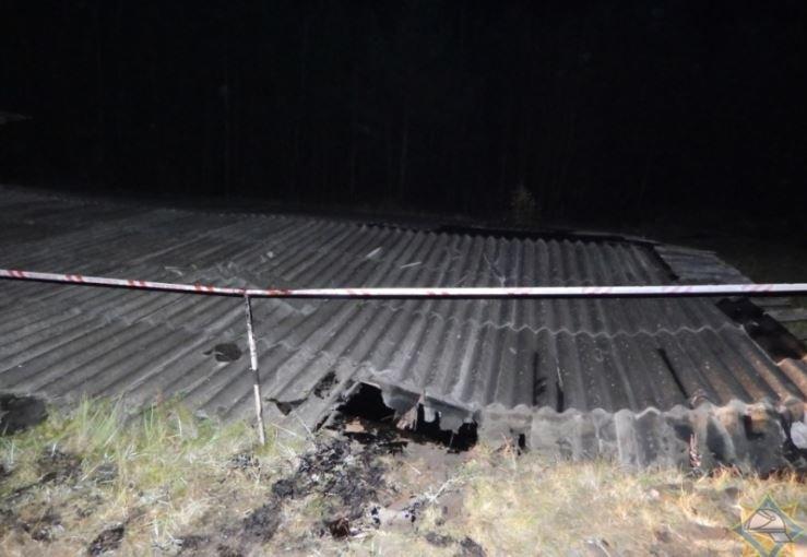 В Ушачском районе мужчина провалился в битумное хранилище