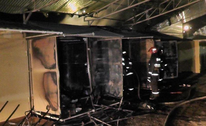 В Гродно произошел пожар на Южном рынке