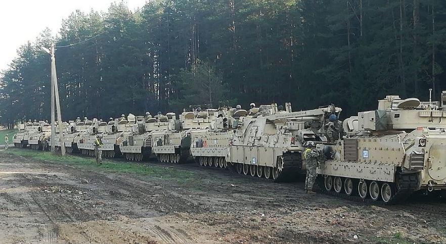 В Литве прокомментировали размещения войск США у границ Беларуси