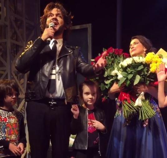 Киркоров в Минске поздравил жену Макея с днем рождения