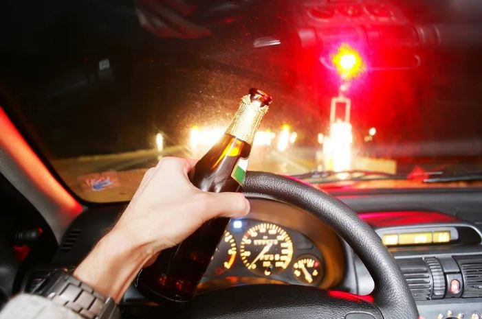 В Гродно пьяный бесправник пытался скрыться от ГАИ
