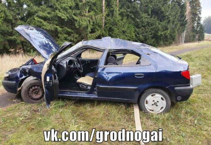 ДТП в Островецком районе: пассажир погиб из-за пьяного водителя