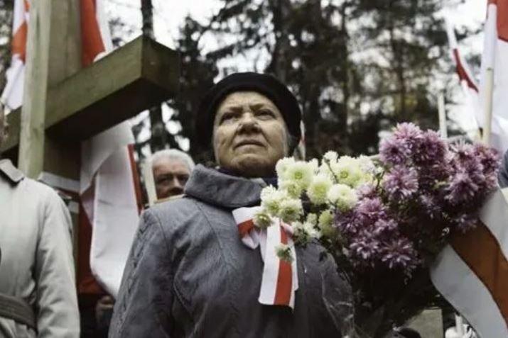 В Куропатах прошла акция в день поминовения предков «Дзяды»