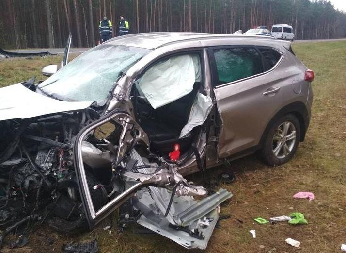 Лобовое ДТП в Лепельском районе: пострадали три человека