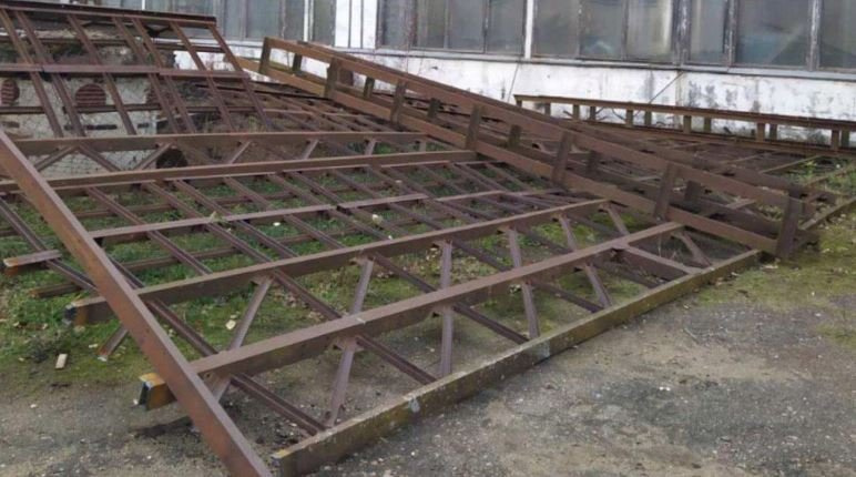 В Витебске рабочего раздавила упавшая металлоконструкция