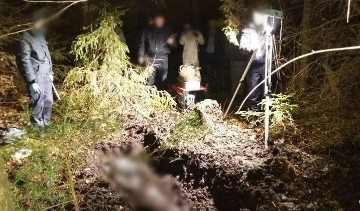 Сын убил отца и закопал труп в лесу под Докшицами