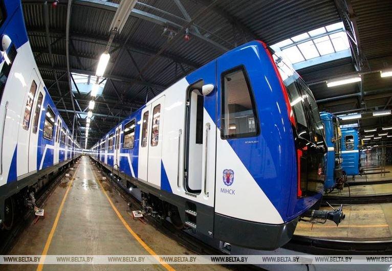 Новые поезда «Штадлер Минск» появится в метро