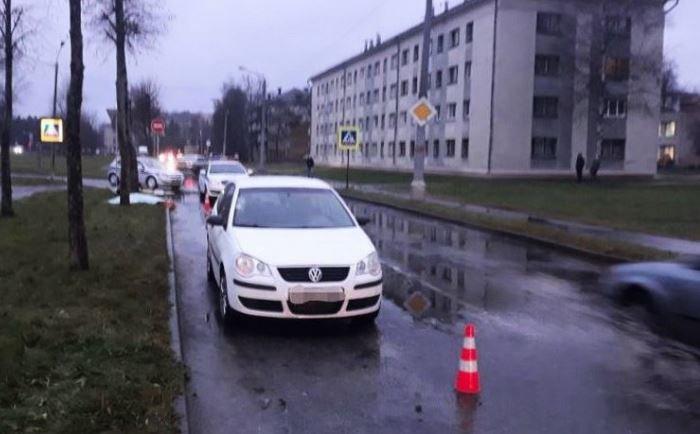 В Новополоцке на переходе легковушка насмерть сбила женщину