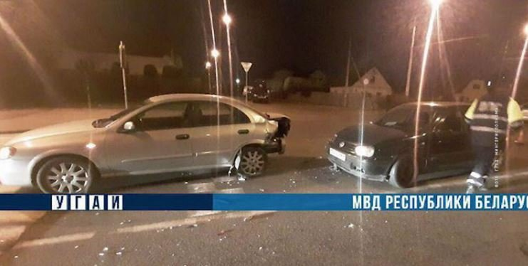 В Минске пьяный водитель пытался скрыться от ГАИ и попал в ДТП