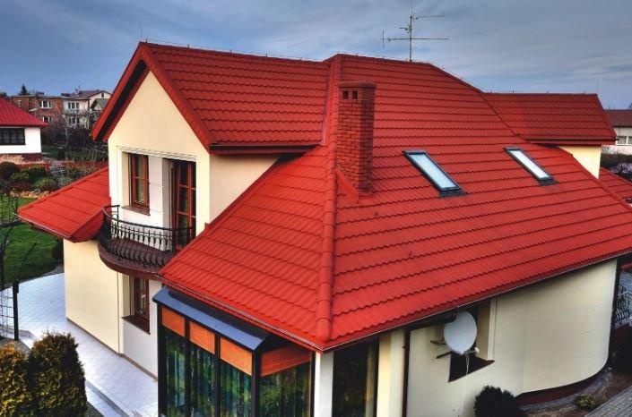 Форма крыши может быть различной