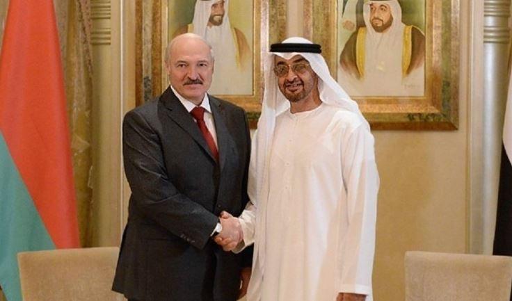 Лукашенко провел переговоры с наследным принцем Абу-Даби