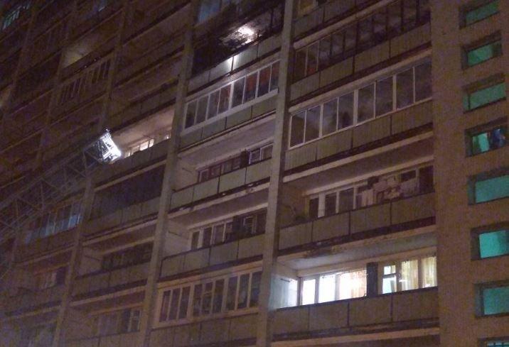 В Минске ночью произошел пожар в общежитии Моторного завода