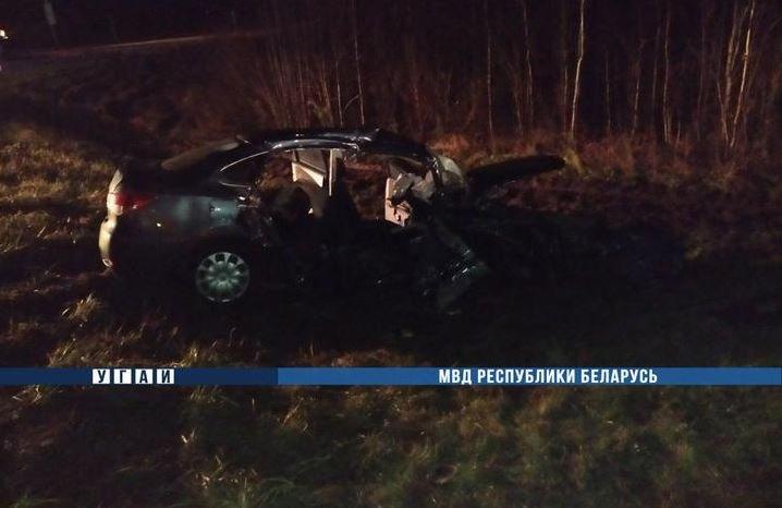 В результате ДТП в Борисовском районе погибла женщина
