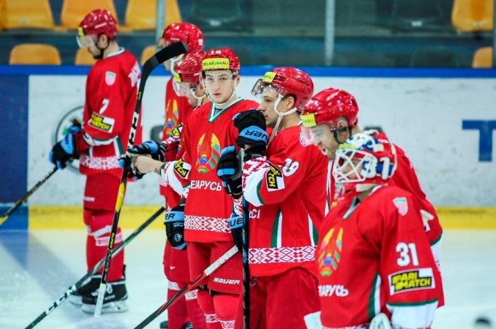 Сборная Беларуси проиграла Словении на Турнире четырех наций
