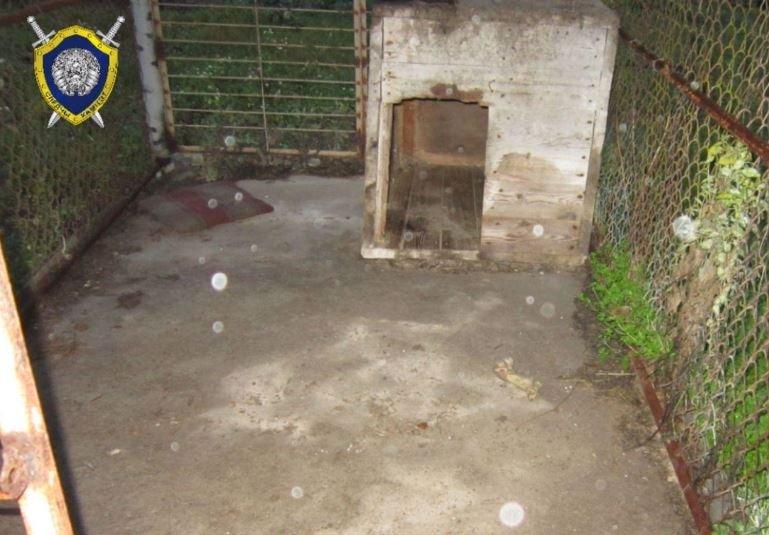 В Слониме мужчина запер собутыльницу в собачьем вольере