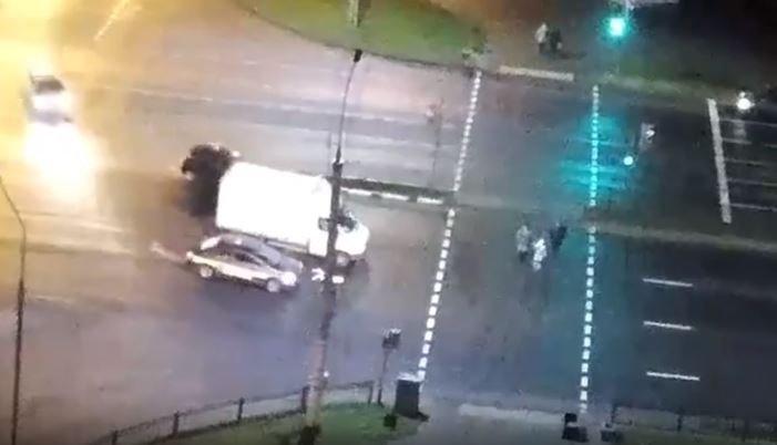 В Бресте таксист сбил трех человек на пешеходном переходе
