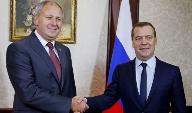 Румас и Медведев проведут заседание союзного совета министров
