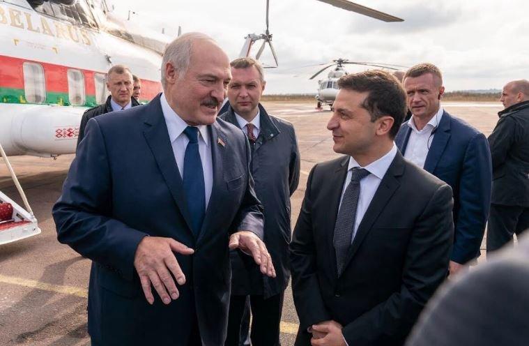 Зеленский отказался от помощи Лукашенко для контроля границы в Донбассе