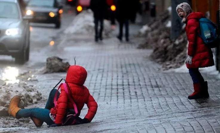 В Беларуси от гололедицы пострадали 137 человек