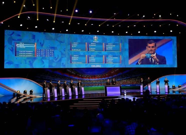 Состоялась жеребьевка чемпионата Европы 2020 по футболу