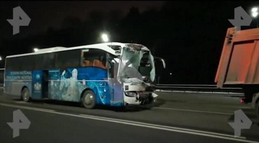 В ДТП с белорусским автобусом под Москвой пострадали 8 человек