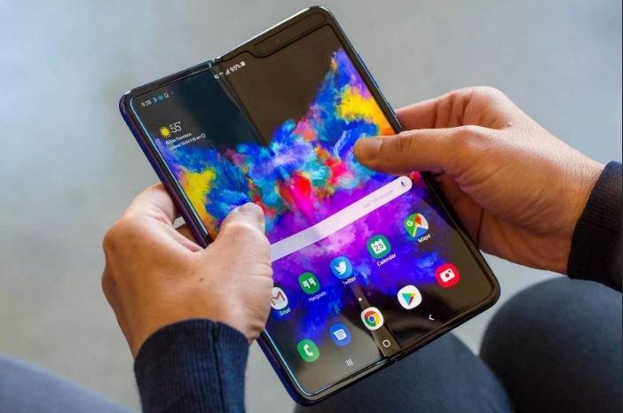 Samsung разработала новый складной смартфон