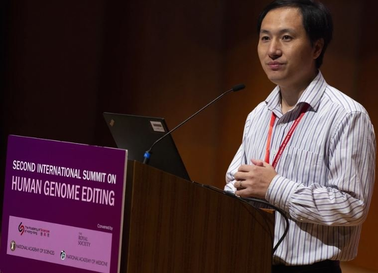 В Китае ученого осудили на три года за изменение генома человека