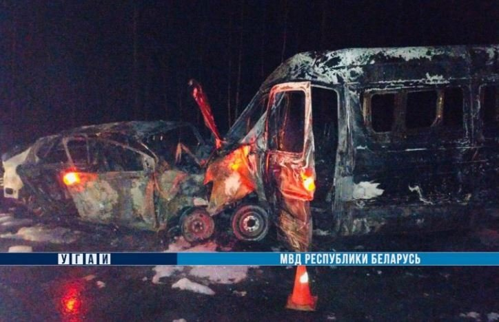 ДТП под Могилевом: два человека погибли и 11 пострадали