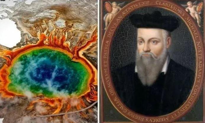 Нострадамус, вулкан Йеллоустоун, извержение, прогнозы, пророчества, 2020, мировая война, конец света