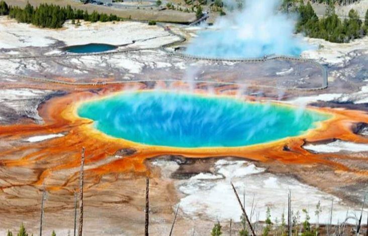 Извержение вулкана Йеллоустоун, пророчество, библия, предсказание, конец света