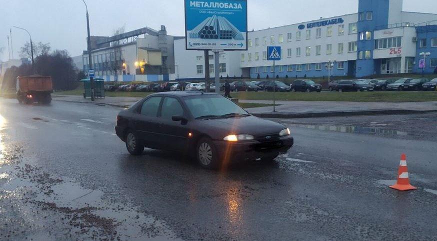 В Минске водитель сбил на переходе двух женщин