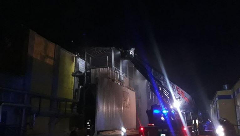 На «Борисовдреве» вечером 15 января случился пожар