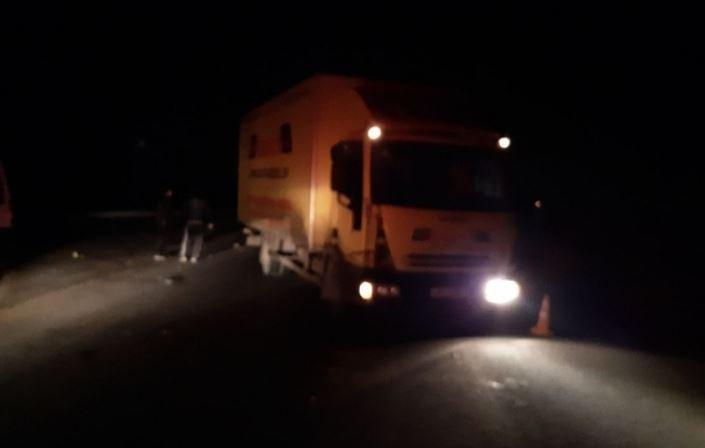 Фура сбила пешехода насмерть в Витебском районе