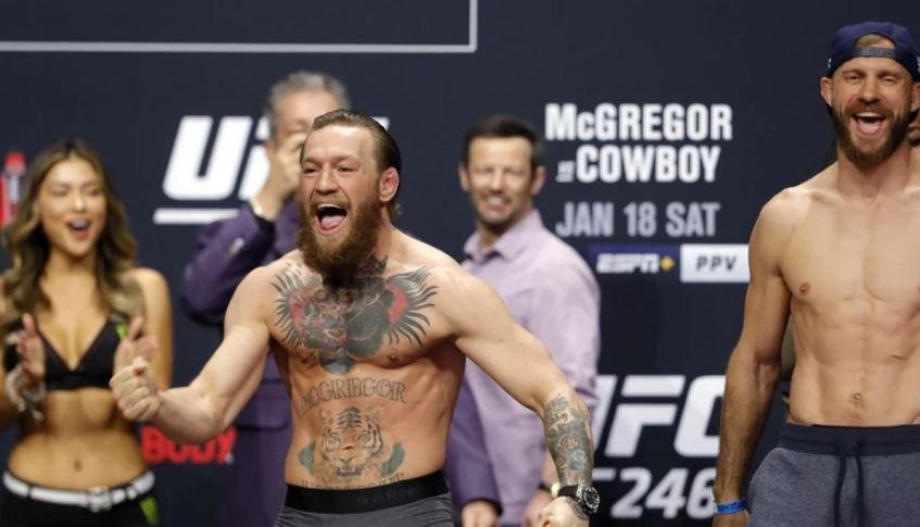 UFC 246: МакГрегор победил Серроне за 40 секунд