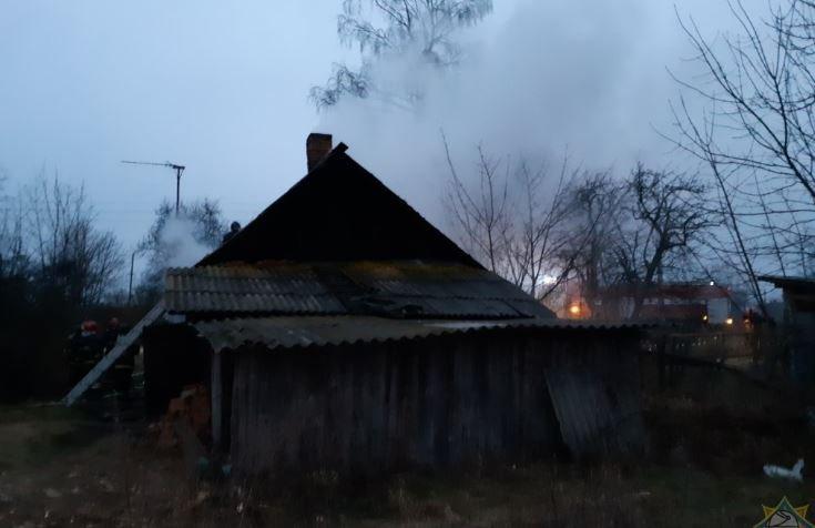 На пожаре в Октябрьском районе погибли два брата