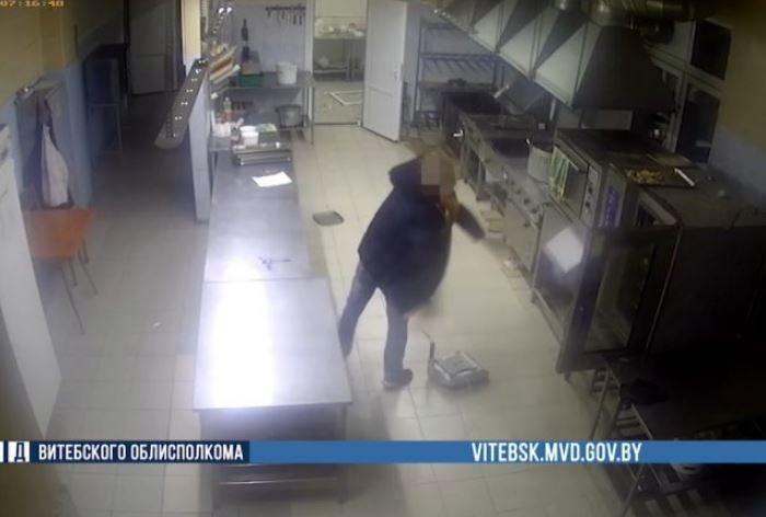 В Витебске пьяный студент устроил погром в ресторане