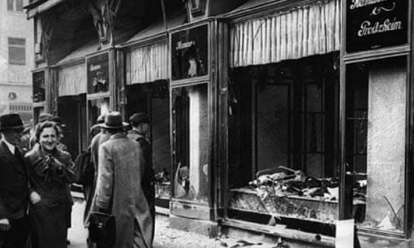 Хрустальная ночь, 1938, германия, еврейский погром